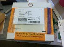 paczka, przesyłka kurierska